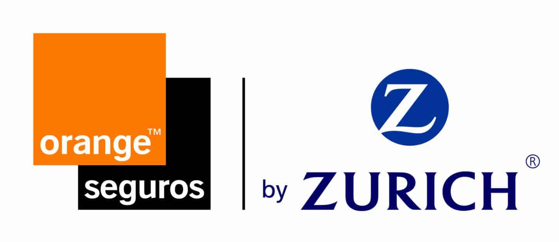Logotipo de la alianza de Orange y Zurich para el negocio asegurador.