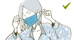 Cómo usar la mascarilla quirúrgica
