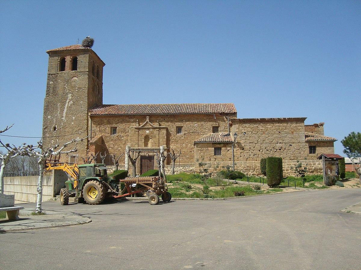 Iglesia de Santo Tomás en Quintanilla del Molar (Valladolid).