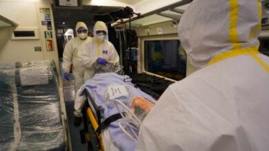 Simulacro en Atocha con un 'tren-hospital' de Renfe para trasladar pacientes con el virus