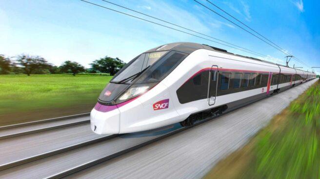 Un tren de la compañía francesa SNCF.