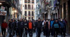 Nueva manifestación en Pamplona en apoyo a un etarra