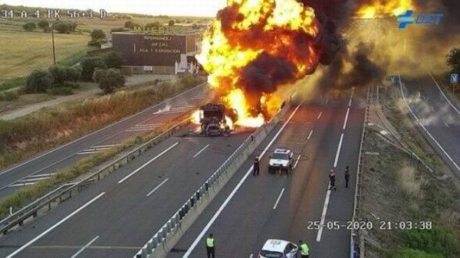 Muere en Ocaña (Toledo) un conductor que circulaba en sentido contrario