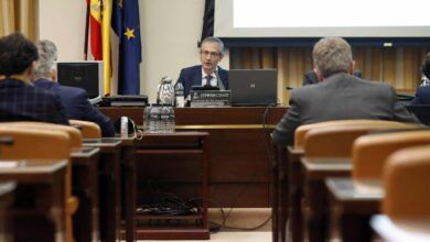 España está a salvo de una crisis financiera mientras la economía no entre en caída libre