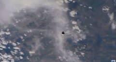 La nave 'Crew Dragon' de SpaceX llega a la Estación Espacial Internacional