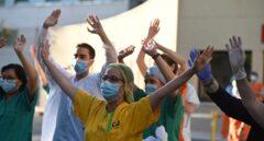 Así ha sido el último gran aplauso a los sanitarios