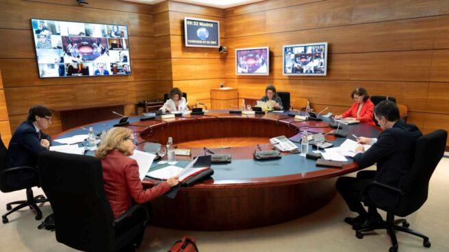 Reunión del Consejo de Ministros de este martes, 12 de mayo.
