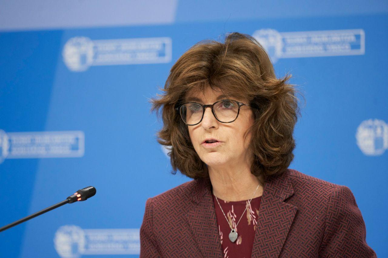 La consejera de Salud del Gobierno vasco, Nekane Murga.
