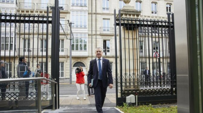 """Euskadi fomentará la reinserción de presos como vía de """"pacificación social"""""""