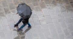 Lluvias dispersas hoy en amplias zonas de la Península y en Baleares