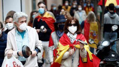 Las caceroladas contra el Gobierno se extienden por Madrid