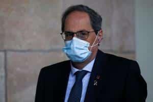 """Torra acusa al Gobierno de aplicar un """"recorte"""" en los fondos asignados a Cataluña"""