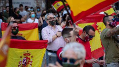 La Fiscalía dice que el estado de alarma no es suficiente para prohibir manifestaciones