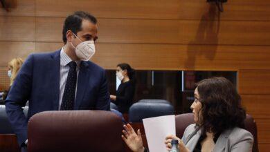 Ayuso destituye a Ignacio Aguado y todos los consejeros de Ciudadanos