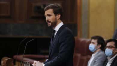 """Casado, a Sánchez: """"Su problema no es Núñez de Balboa, sino las colas en Aluche"""""""