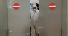 Extranjero llegada aeropuerto coronavirus