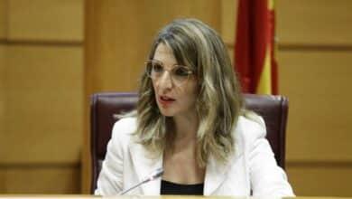 """Yolanda Díaz: """"Se van a desplegar las medidas necesarias para que podamos cuidar de nuestros hijos"""""""