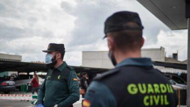 Interior ha hecho el test del coronavirus a 9.386 guardias civiles, el 12 % de la plantilla