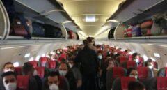 La regulación actual en España permite a las aerolíneas llenar los aviones sin límite