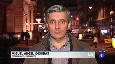 Sigue la purga en TVE: Miguel Ángel Idígoras deja la corresponsalía en Londres