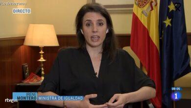 """Irene Montero respalda a Iglesias: """"La derecha está llamando a la insubordinación del Ejército"""""""