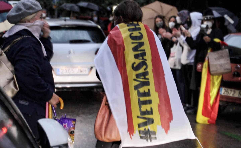 Protestas en Núñez de Balboa