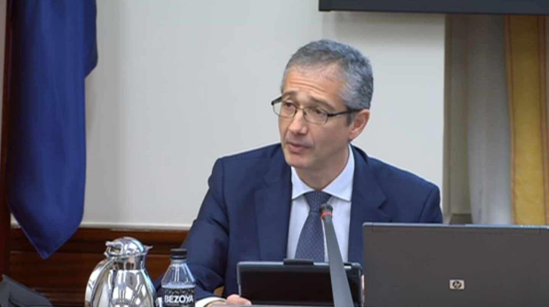 Pablo Hernández de Cos, gobernador del Banco de España