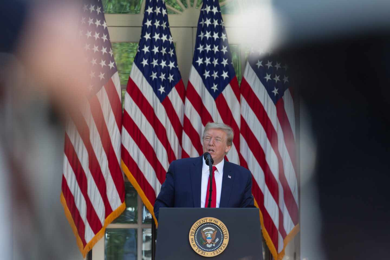 Donald Trump coronavirus elecciones