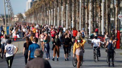 Los españoles toman las calles para hacer deporte