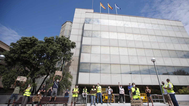 Unos 800 empleados del SEPE han estado sin trabajar durante la gestión de los ERTE