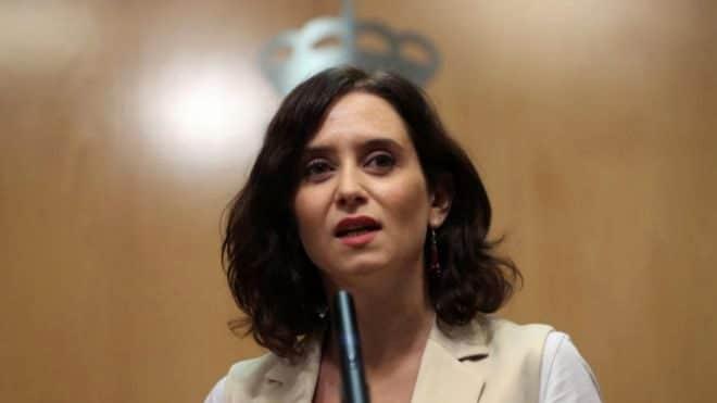 """Ayuso descarta anticipar elecciones en Madrid y acusa al PSOE de querer """"partir"""" su Gobierno"""