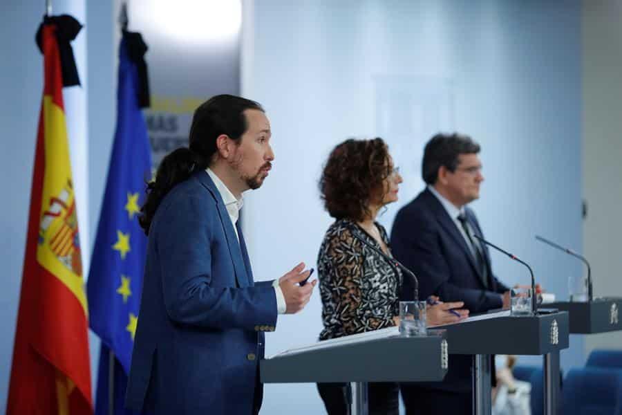 Iglesias dice que con el Ingreso Mínimo habrá más igualdad, seguridad y libertad