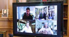 Los Reyes charlan con Bisbal, Mercé y Poveda de la crisis y los planes del futuro del sector