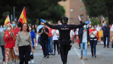El Supremo envía a la Justicia catalana la autorización de las manifestaciones de Vox