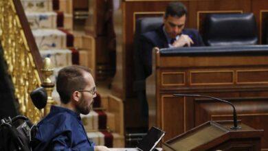 Echenique copia a Simancas y culpa a Ayuso de la dimensión del contagio en España