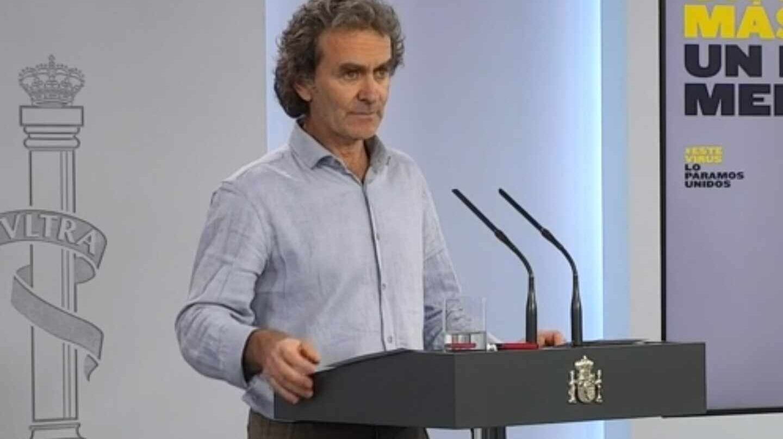"""Simón advierte a Cataluña por los datos: """"No es baladí que no se pueda saber qué está pasando allí"""""""