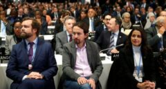 """Iglesias levanta el veto a Arrimadas para respaldar toda moción """"contra el PP y Vox"""""""
