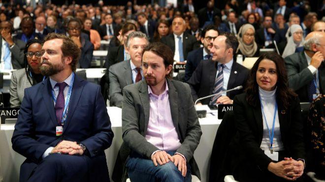 PSOE y Unidas Podemos comparten la estrategia de atraer a Ciudadanos
