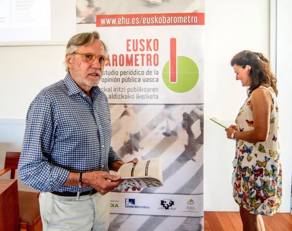 El catedrátivo de Ciencia Política por la UPV y director del 'Euskobarómetro', Francisco Llera.