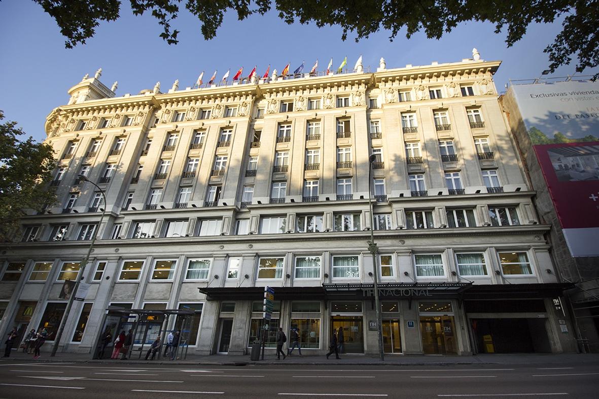 El hotel NH Nacional de Madrid.