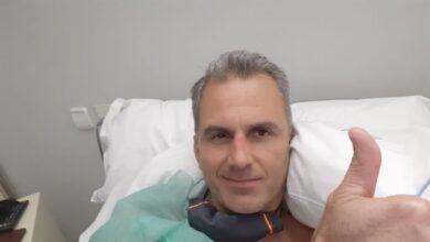 Ortega Smith, ingresado con varios trombos provocados por las secuelas del coronavirus