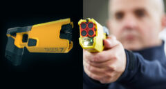 Modelo de dispositivo electrónico del control que ha adquirido la Policía Nacional.