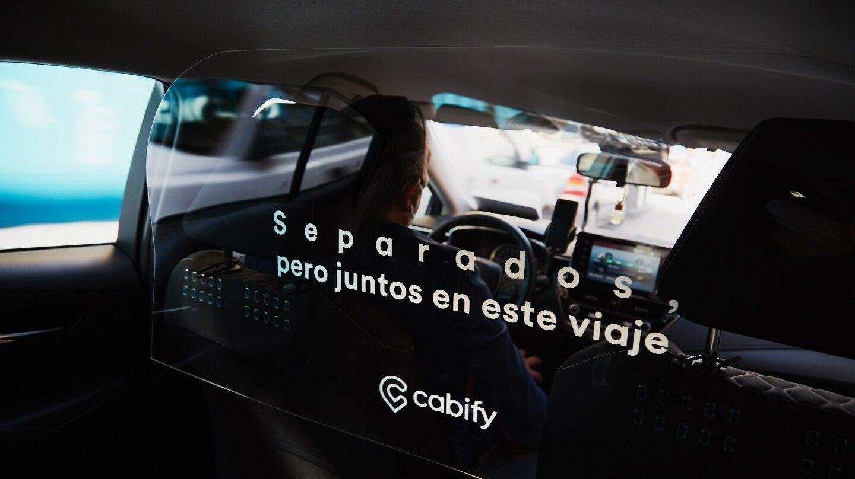 La desescalada de Cabify: mamparas en sus coches y una nueva opción para cancelar viajes