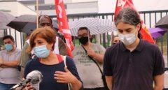 Los trabajadores del Lidl van a la huelga y se concentran a las puertas de las tiendas