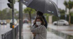 Seis provincias del tercio norte peninsular estarán hoy en riesgo por fuertes tormentas