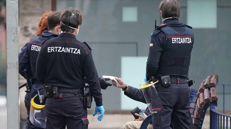 Condenan al Gobierno vasco por no dotar a la Ertzaintza de material de protección