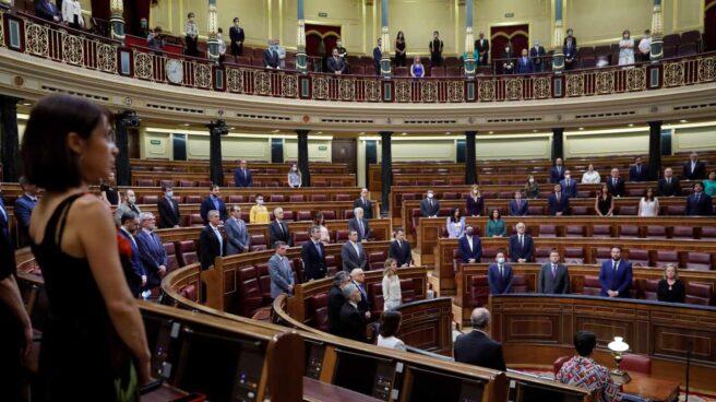 Homenaje a las víctimas del terrorismo en el Congreso.