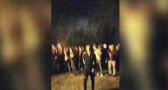 Vídeo: indignación en Navarra por una fiesta de más de 200 jóvenes en el lago Mendillorri