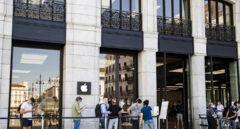 Apple cierra sus tiendas en Madrid por la evolución del coronavirus