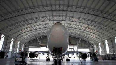 El Covid-19 aparca el tráfico aéreo